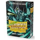 Dragon Shield Yu-Gi-Oh! Size Card Sleeves - Matte Mint (60)