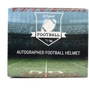 2019 Hit Parade Autographed PROLINE Football Helmet Hobby Box - Series 1 - Peyton Manning & Russell Wilson!!!