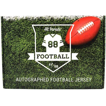 2018 Hit Parade Autographed Football Jersey Hobby Box - Series 17 - Patrick Mahomes & Todd Gurley!!!