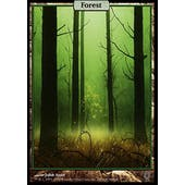 Magic the Gathering Unhinged Single Forest FOIL - SLIGHT PLAY (SP)