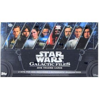 Star Wars Galactic Files Hobby Box (Topps 2018)