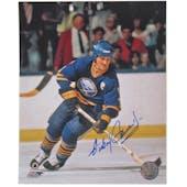 Gilbert Perreault Autographed Buffalo Sabres Captain 8x10 Hockey Photo