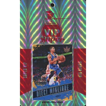 2018 Panini National Super VIP Party Event Badge Stephen Curry 1/1 Court Kings