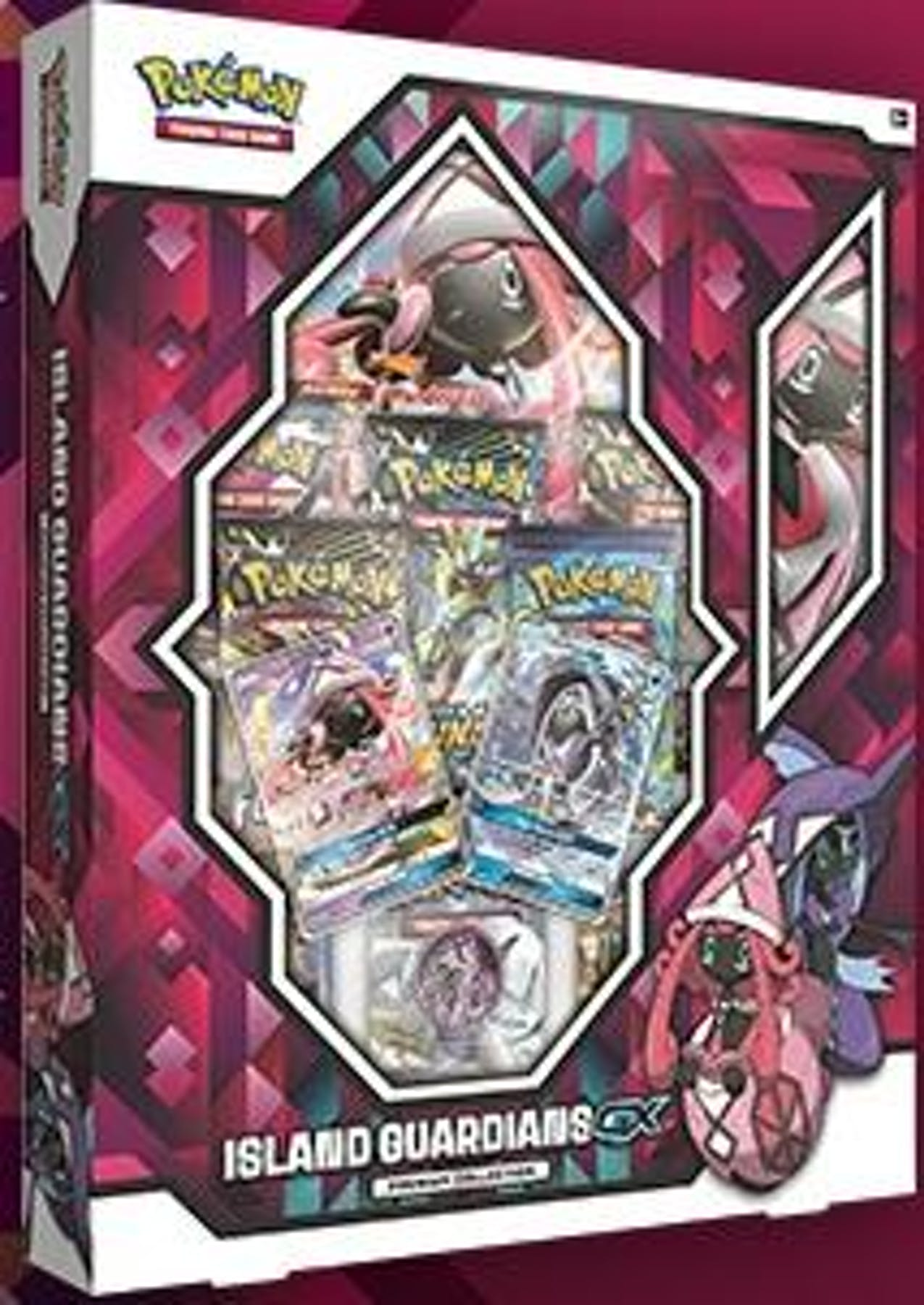 pokemon island guardians gx premium collection presell da card world