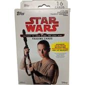 Star Wars Journey to The Last Jedi Hanger Box (Topps 2017)