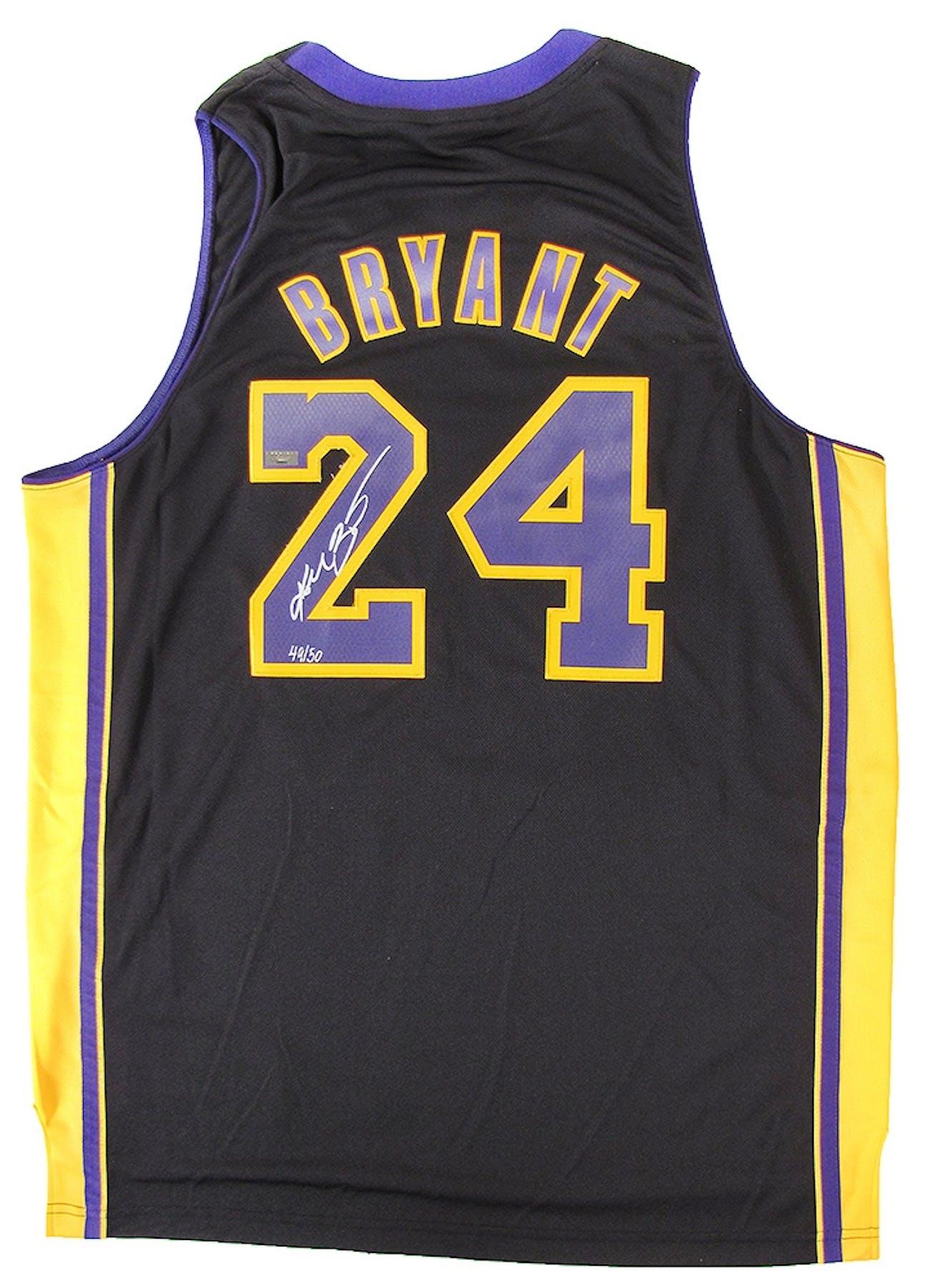 b3575a30879e Kobe Bryant Autographed