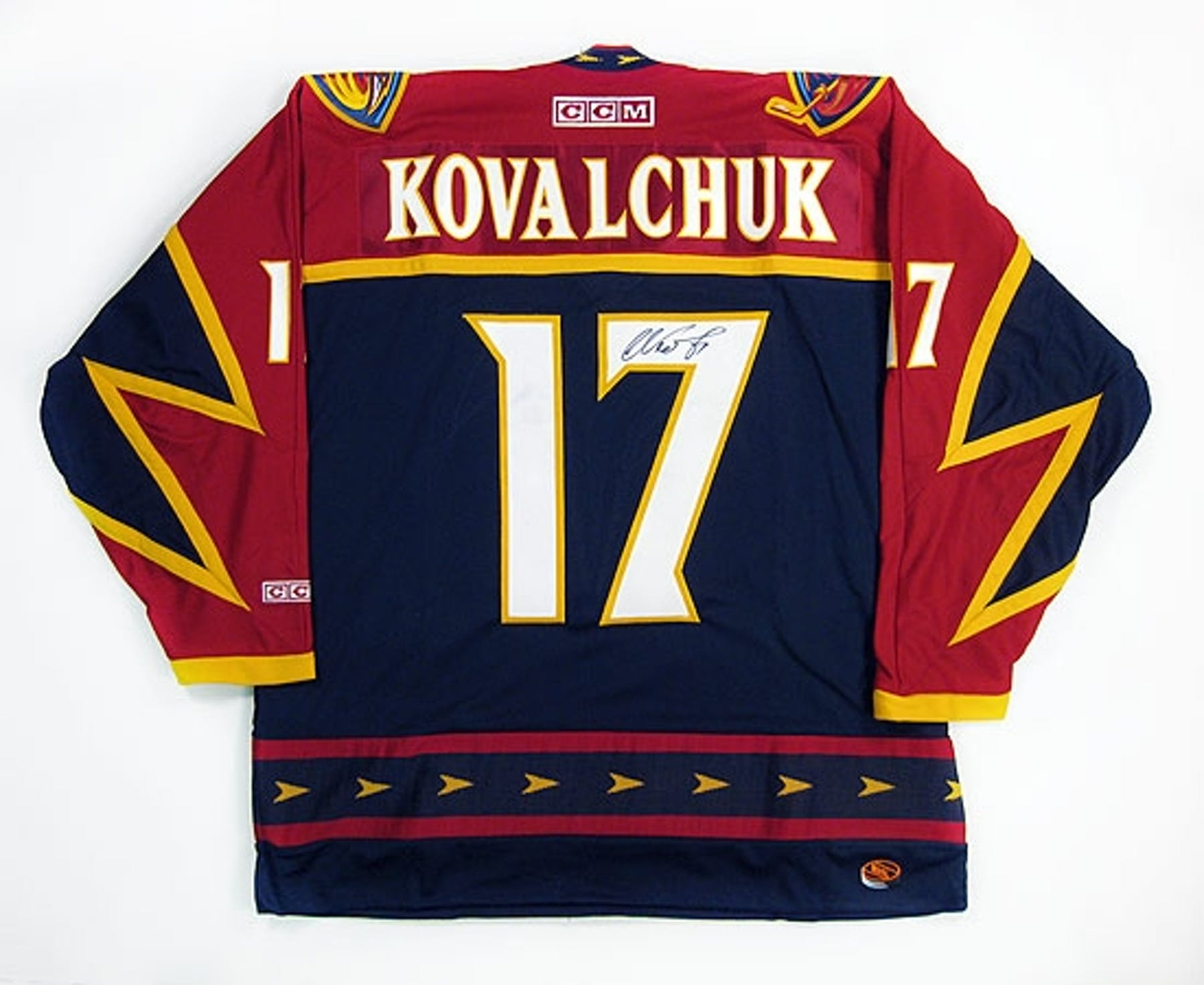 Ilya Kovalchuk Autographed Atlanta Thrashers CCM Hockey Jersey ... 1a85c5c8d