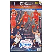 Fathead Los Angeles Clippers Team Set Wall Graphic (Lot of 10)