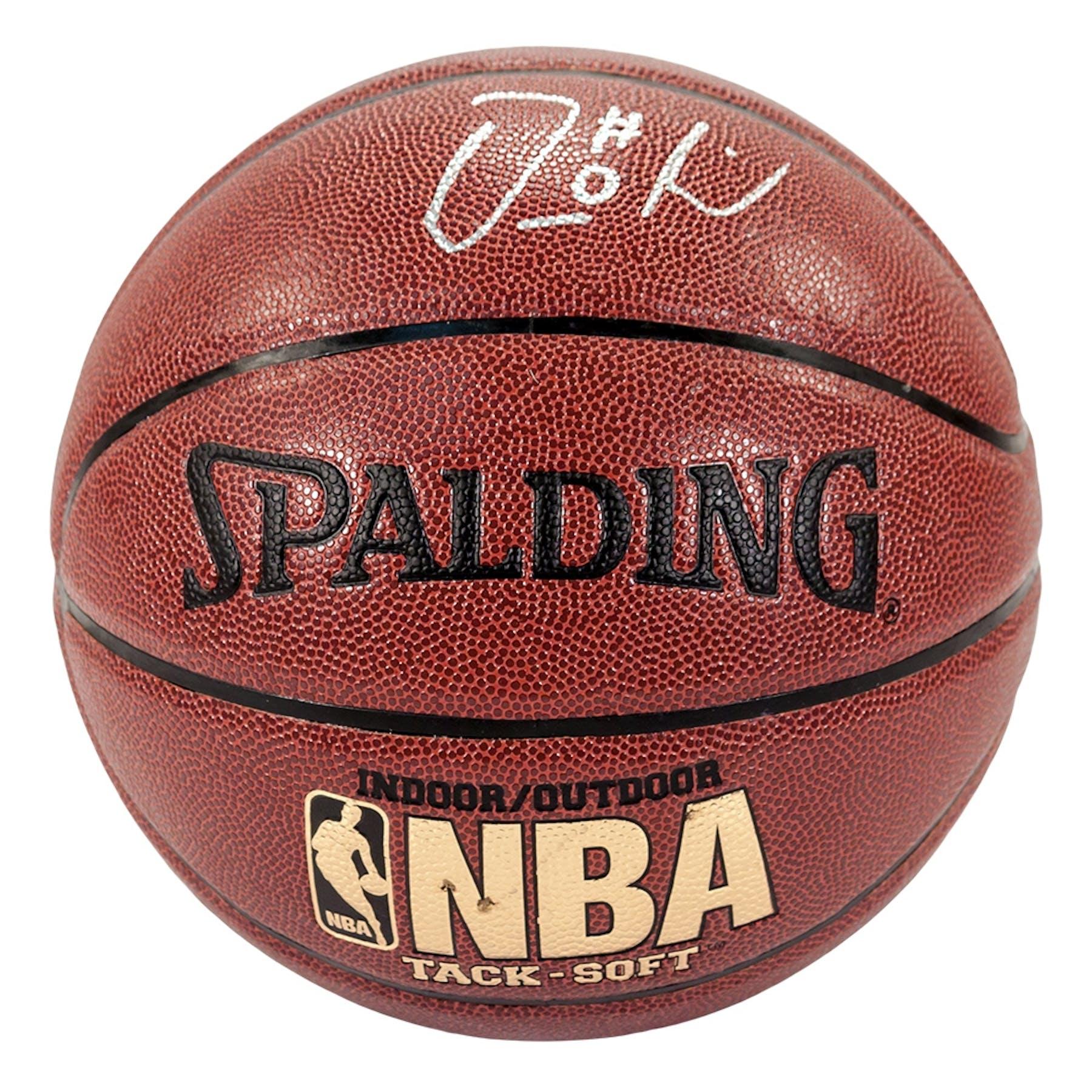 Portland Blazers Roster 2012: Damian Lillard Autographed Portland Trail Blazers Spalding