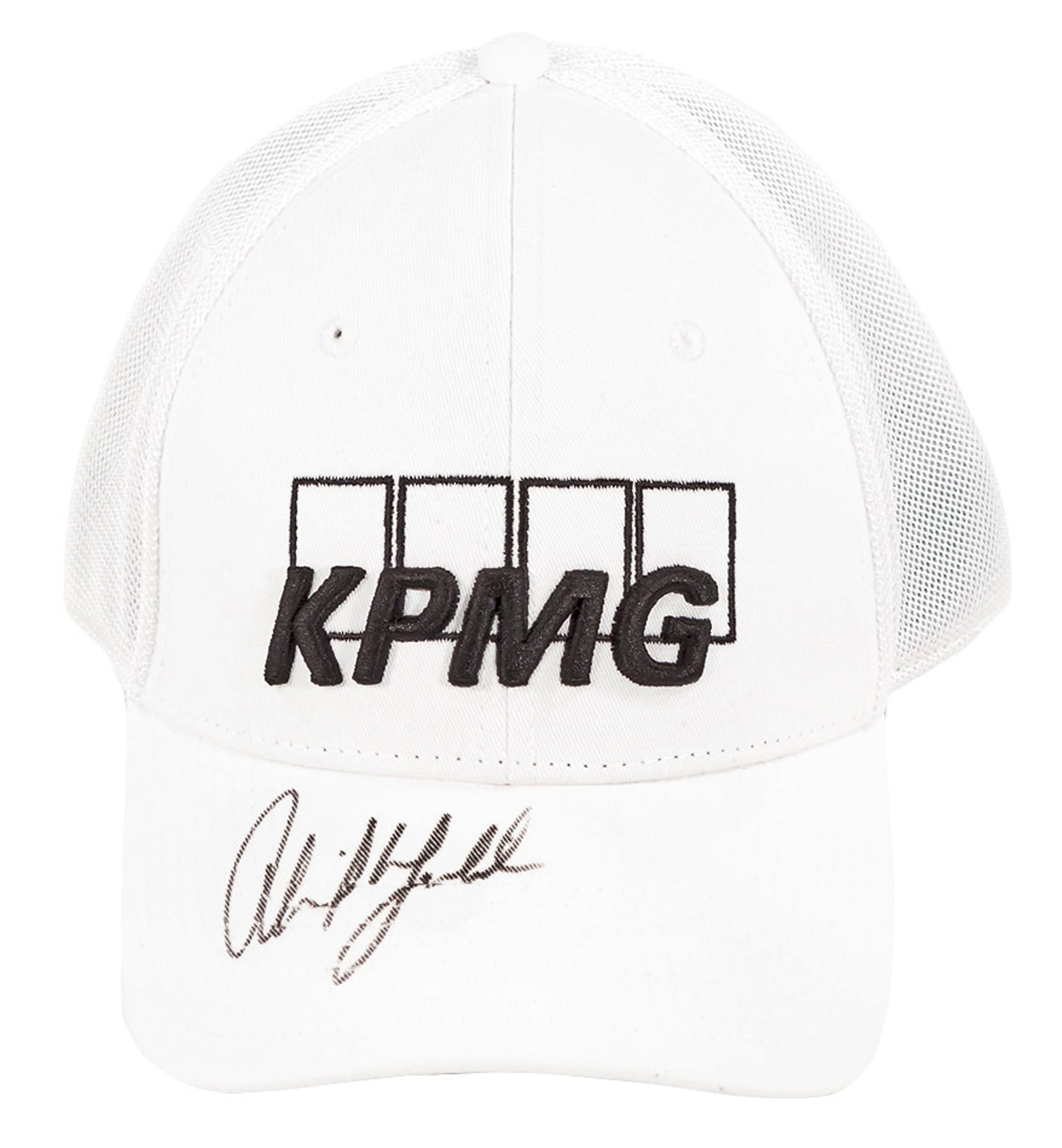 ef94f4bbde9 Phil Mickelson Autographed Official White Callaway KPMG Hat (JSA ...