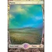 Magic the Gathering Promotional Single Basic Plains FOIL (JUDGE) - NEAR MINT (NM)
