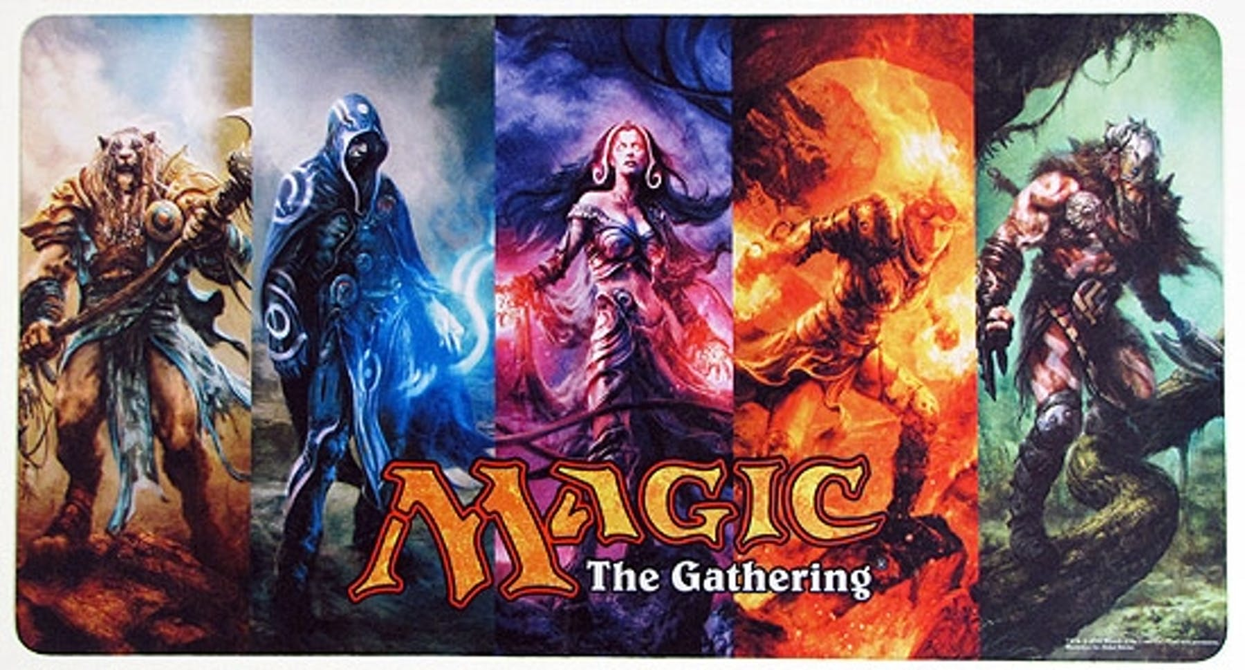 Magic The Gathering Planeswalker Playmat Da Card World
