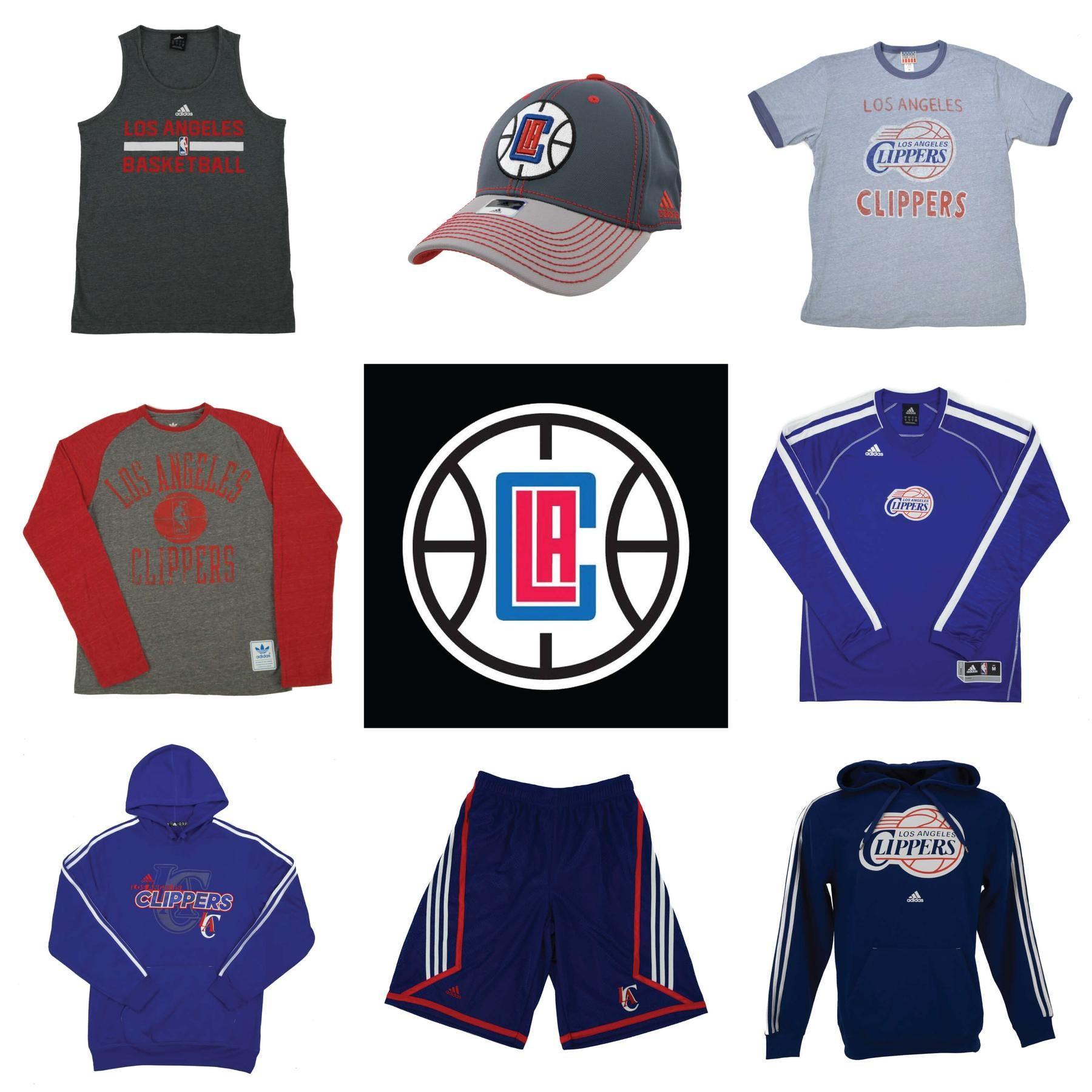 0e04ebf1e Los Angeles Clippers Officially Licensed NBA Apparel Liquidation ...