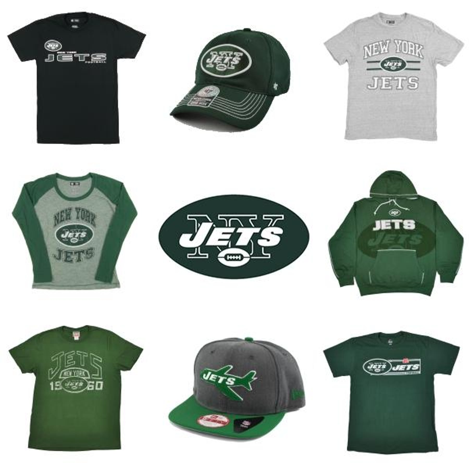 ce1ef8df4ea New York Jets Officially Licensed NFL Apparel Liquidation - 460+ Items,  $13,800+ SRP! | DA Card World