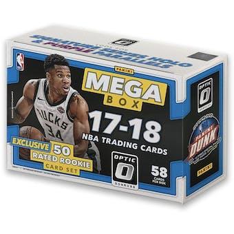 2017/18 Panini Donruss Optic Basketball Mega Box (w/Exclusive Rookie Set)