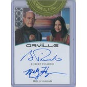 2019 Rittenhouse The Orville Picardo/Hagan Dual Autograph Card