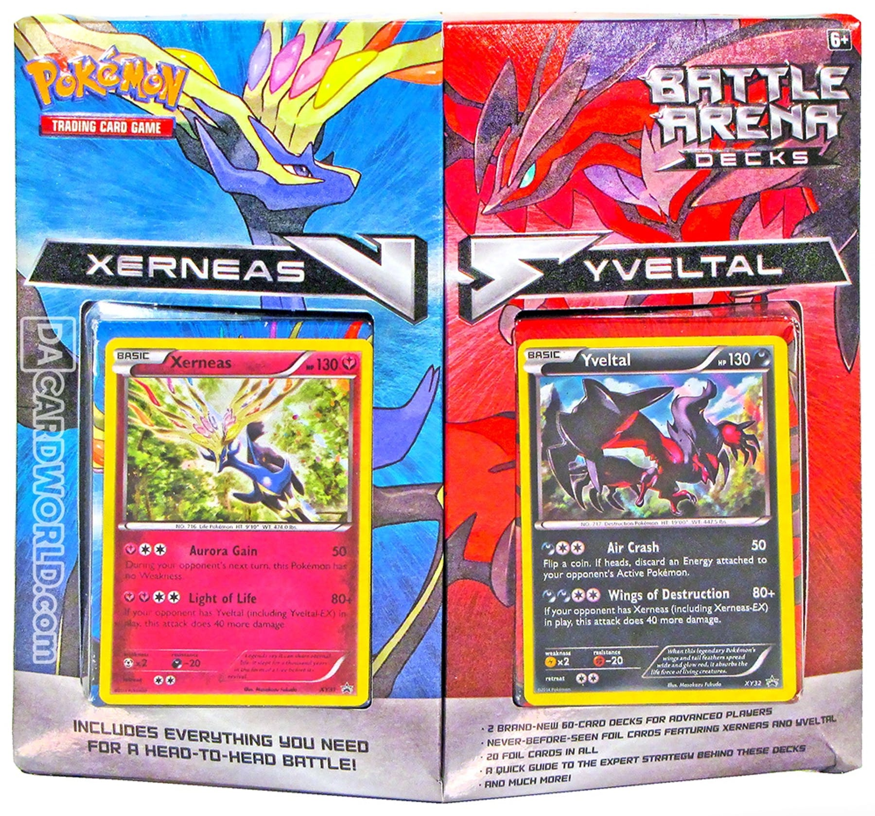 Pokemon Xerneas Vs Yveltal Battle Arena Deck Box Da