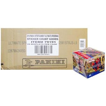 Panini Marvel Ultimate Spider-Man Stickers 24-Box Case