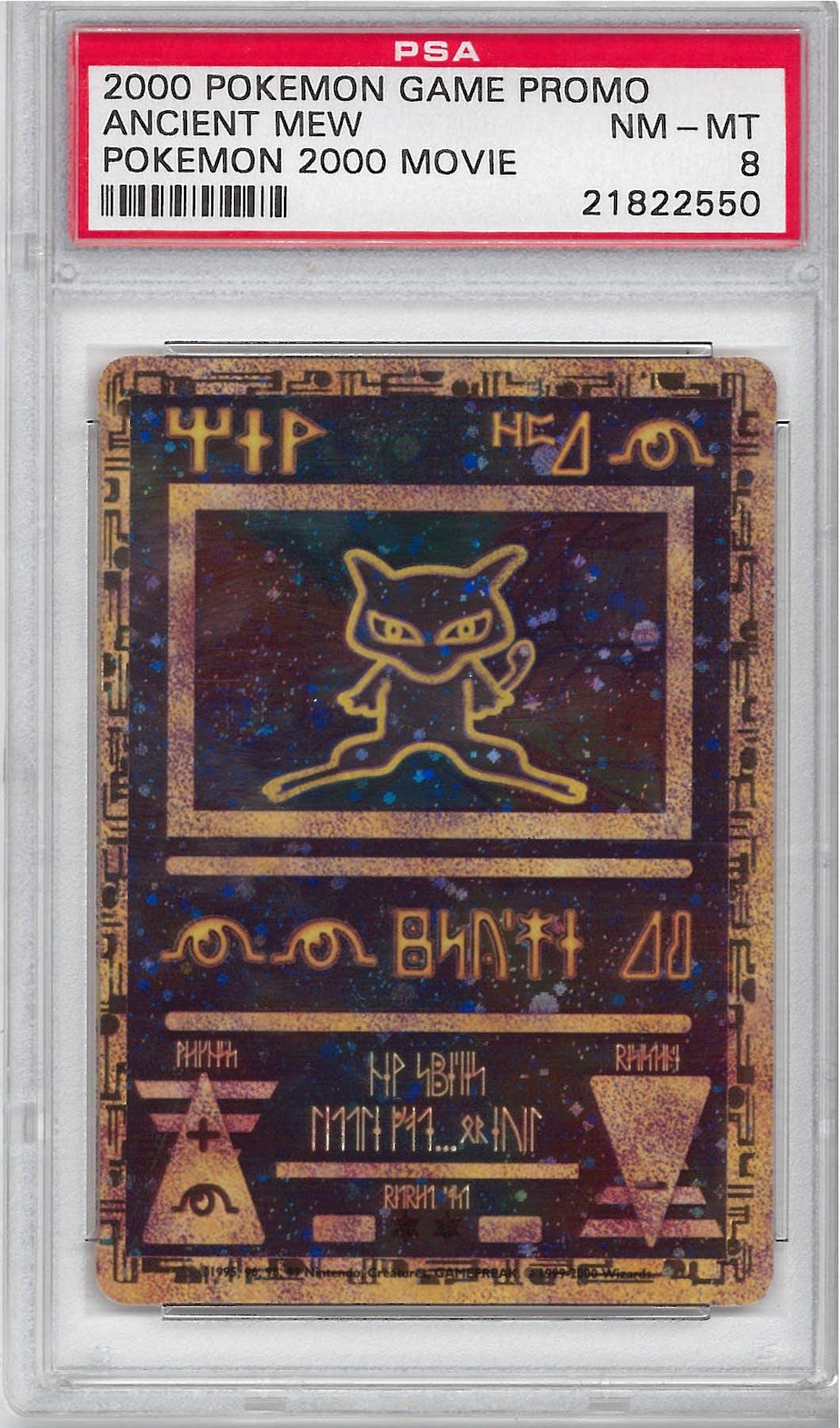 Pokemon Promo Single Ancient Mew Psa 8 21822550 Da
