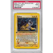 Pokemon Neo Revelation 1st Edition Single Raikou 13/64 - PSA 9