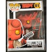 Dark Horse Hellboy Funko POP Autographed by Ron Perlman