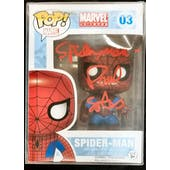 Marvel Spider-Man Funko POP Autographed by Animated Voice Actor Paul Soles