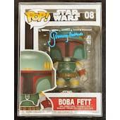 Star Wars Boba Fett Funko POP Autographed by Jeremy Bulloch