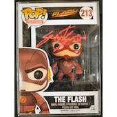 DC CW Flash Funko POP Autographed by Grant Gustin