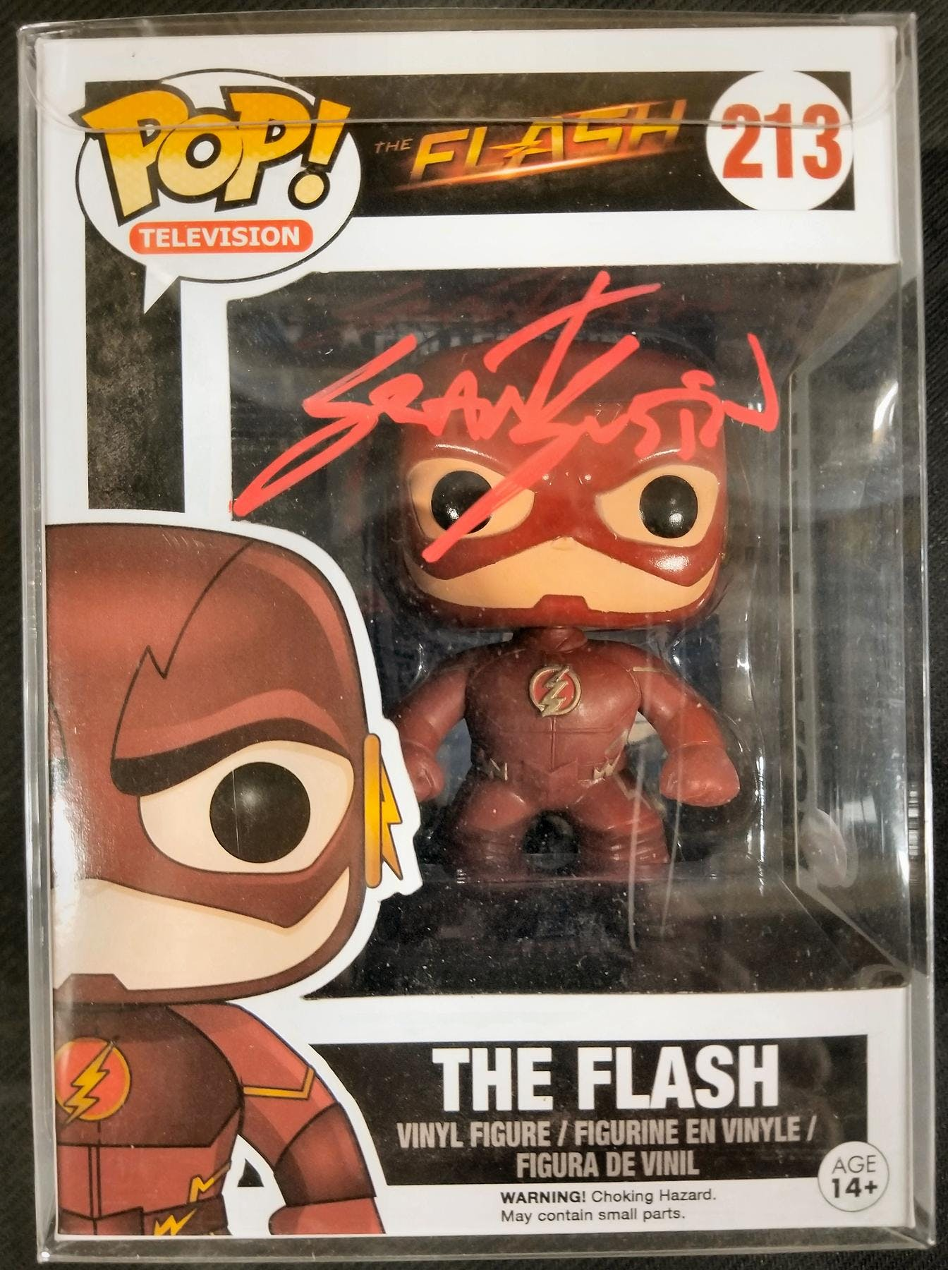 4a55e80ed11 DC CW Flash Funko POP Autographed by Grant Gustin