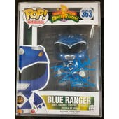 Power Rangers Blue Funko POP Autographed by David Yost