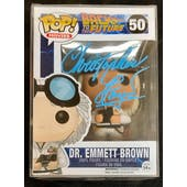 Back to the Future Doc Brown Funko POP Autographed by Christopher Lloyd