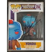 Marvel Guardians of the Galaxy Yondu Funko POP Autographed by Michael Rooker