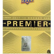 2017/18 Upper Deck Premier Hockey 10-Box Case- DACW Live 31 Team Random Team Break #3