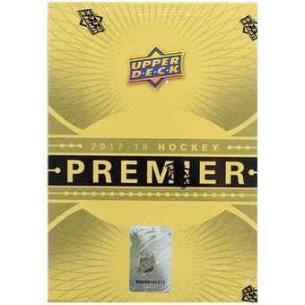 2017/18 Upper Deck Premier Hockey 10-Box Case- DACW Live 31 Team Random Team Break #3