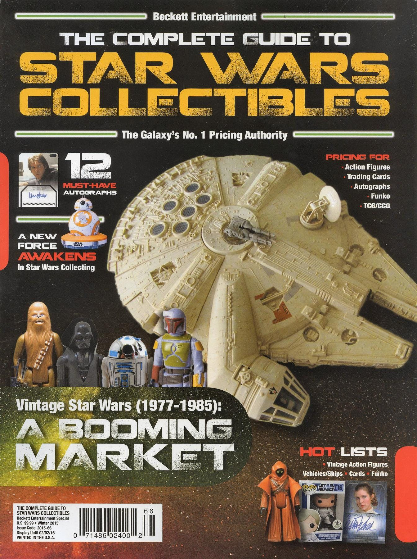 Star wars action figures collectible guides.