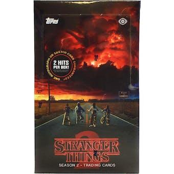 Stranger Things Season 2 Trading Cards Hobby Box (Topps 2019)