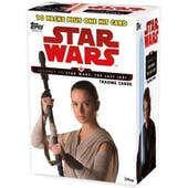 Star Wars Journey to The Last Jedi 10-Pack Box (Topps 2017)