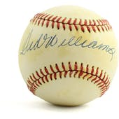Ted Williams Autographed Baseball PSA/DNA AE09571