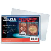 Ultra Pro Soft Sleeve Vertical Booklet (100 Count Pack)