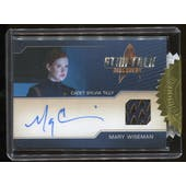 Star Trek Discovery Season 1 6 Case Incentive Mary Wiseman Autographed Costume Card