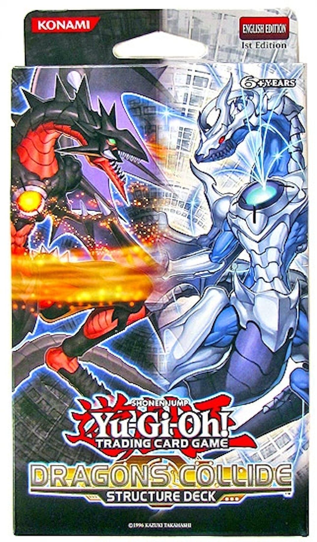 Konami Yu Gi Oh Dragons Collide Structure Deck Da Card World
