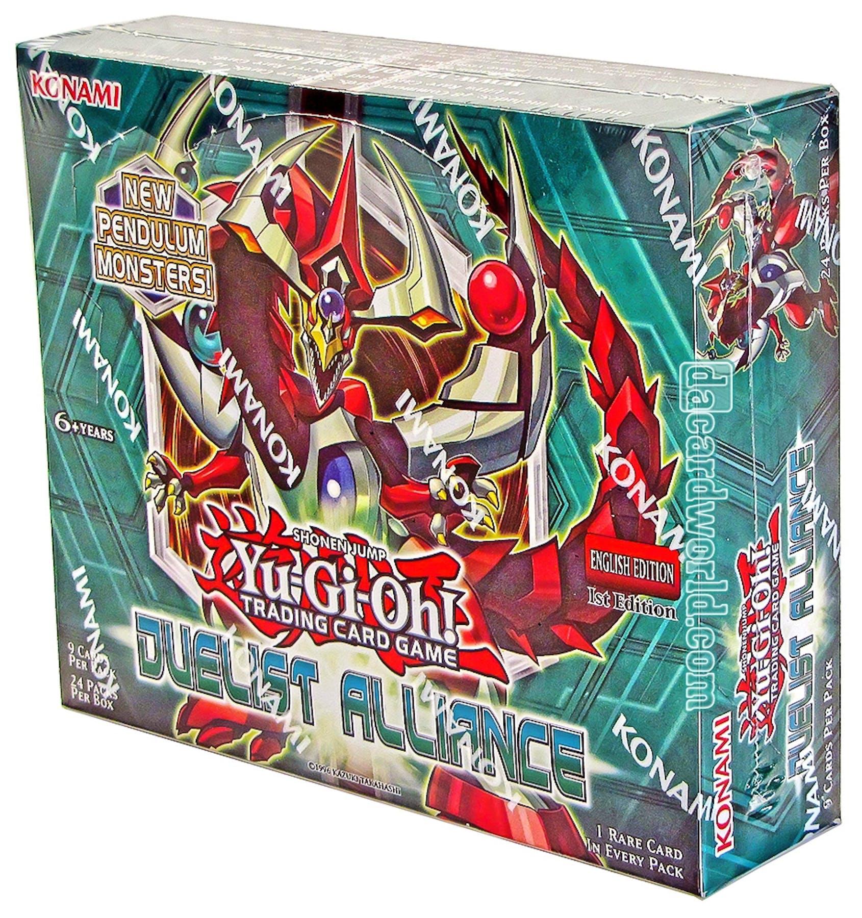Konami Yu-Gi-Oh Duelist Alliance 1st Edition Booster 12