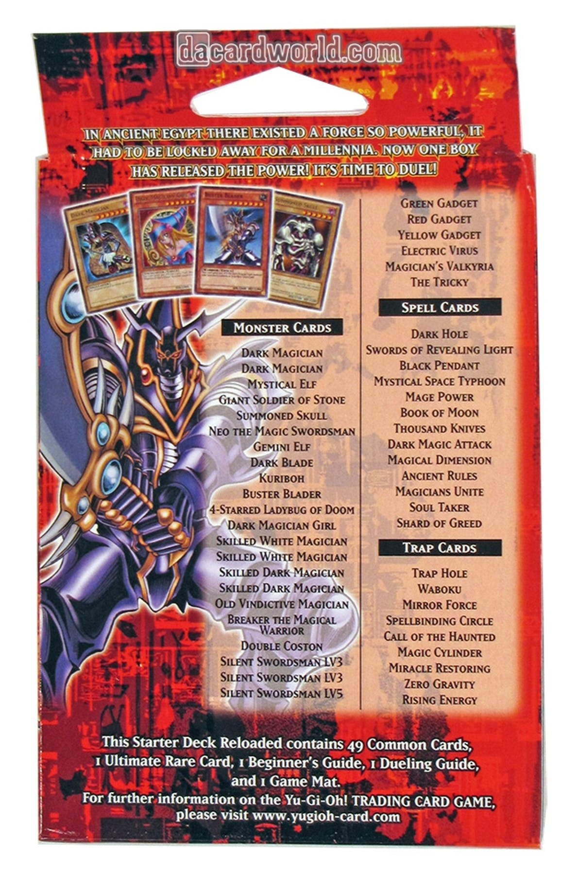 Konami Yu Gi Oh Yugi Amp Kaiba Reloaded Starter Box Da Card World