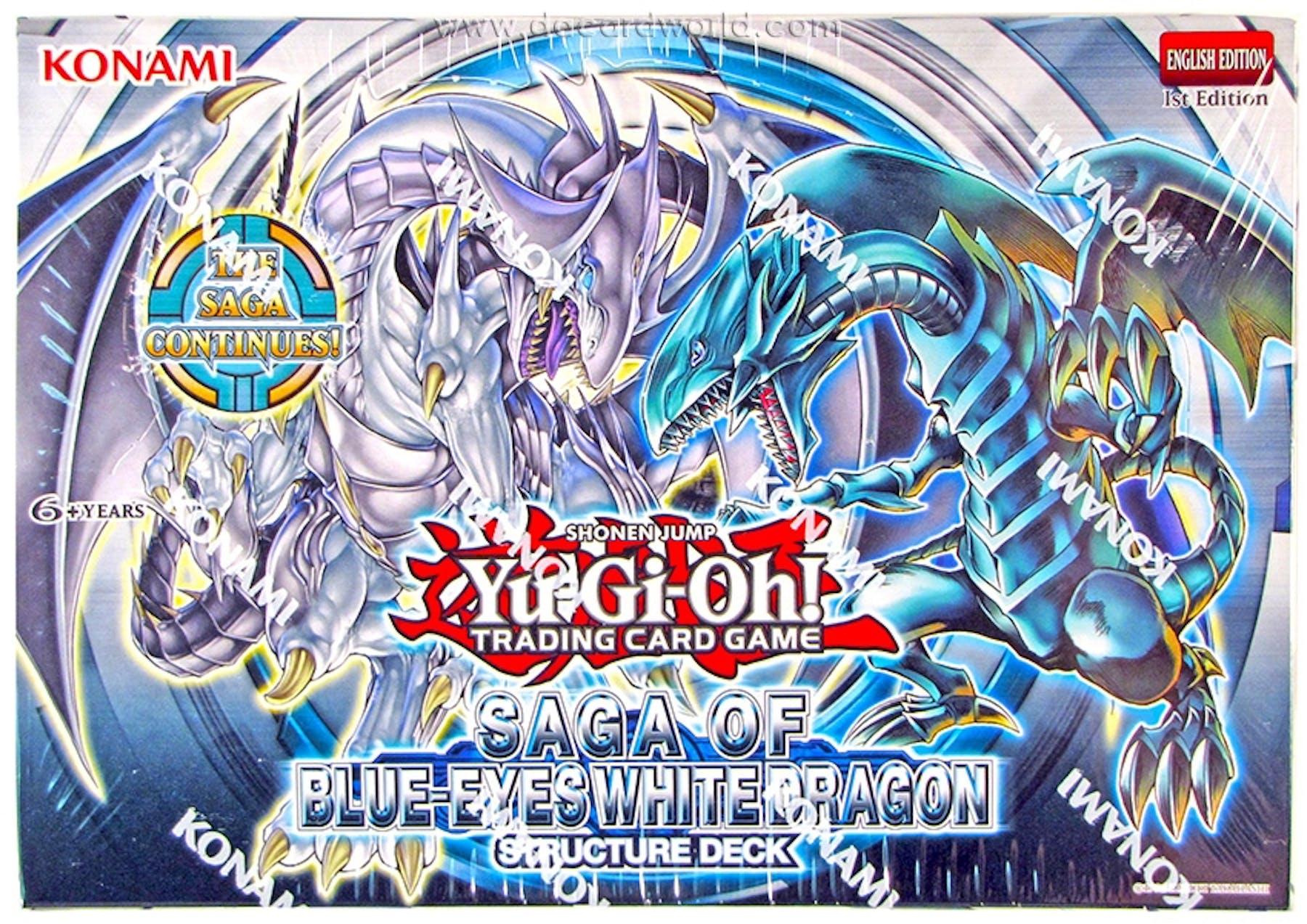 Konami Yu Gi Oh Saga Of The Blue Eyes White Dragon